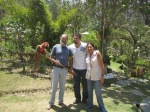Johnny, Simon, and Roxanne - the nicest Bolivian hosts ever!