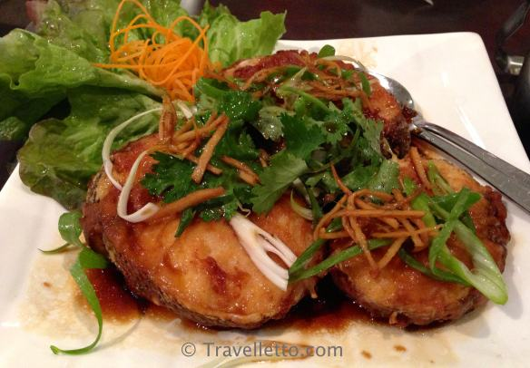 Patagonian tooth fish with ginger and shallots