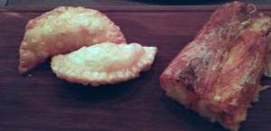 Kazunakia - Cretan feta and mint pies, and Guba - Macedonian pumpkin pastries