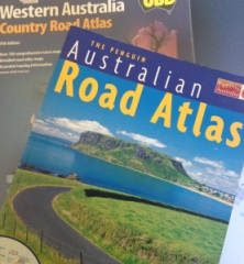 A road atlas or map is essential