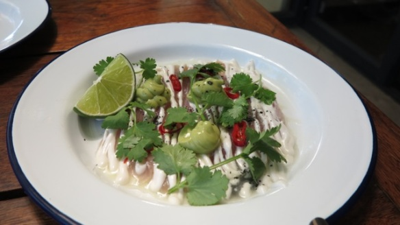 King fish ceviche