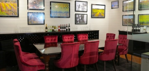 Private dining or wine tasting room